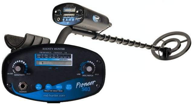 Bounty Hunter Pioneer 503 metal detector