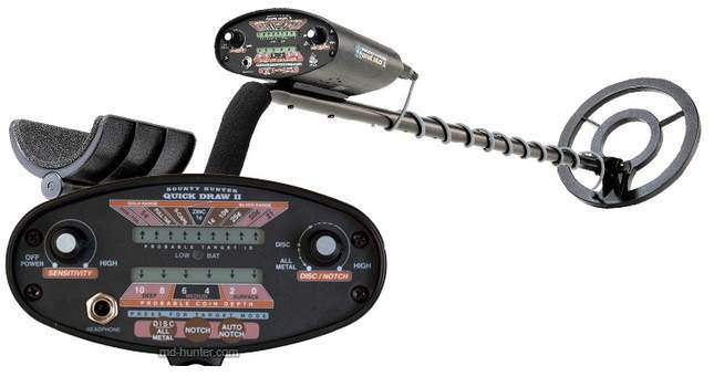 Bounty Hunter Quick Draw 2 metal detector