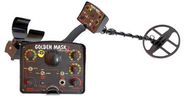 Golden Mask 3 metal detector
