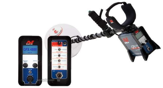 Minelab GPX 4800 Key Features and Description