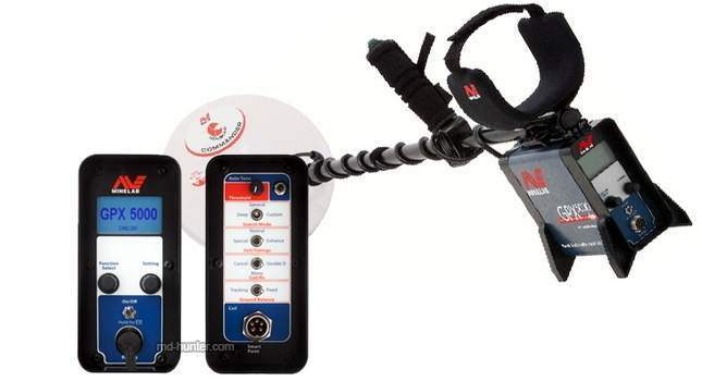 Minelab GPX 5000 Key Features and Description