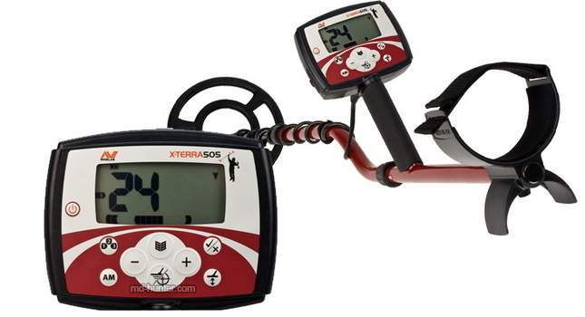 Minelab X-Terra 505 Key Features and Description