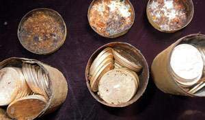 Do you check what's inside tin cans? The story of one hoard