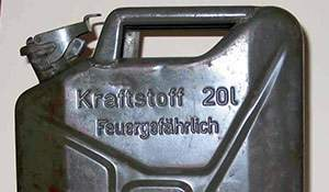 Found: WWII German Jerrycan. A glimpse of history