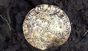 Noble coin. The find desired by all treasure hunters