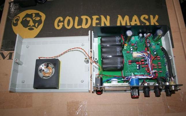 Opening the Golden Mask Deep Hunter. In pictures (repair)