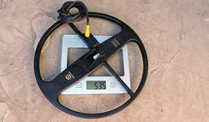 Amazing weight of 13-inch coil! Photo: on the scales