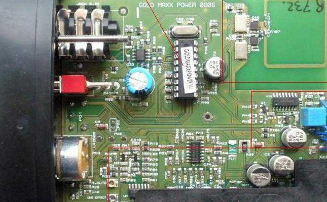 Opening the XP Gold Maxx Power for repair (housing)