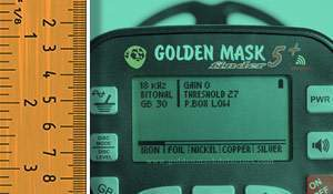 Comparison: Golden Mask 5+ vs Golden Mask 5. Depth test