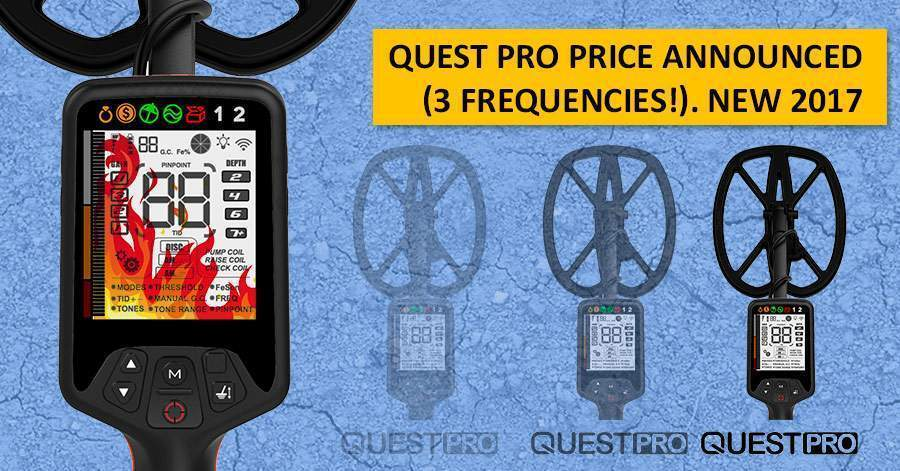 Quest PRO price announced (3 frequencies!). NEW 2017