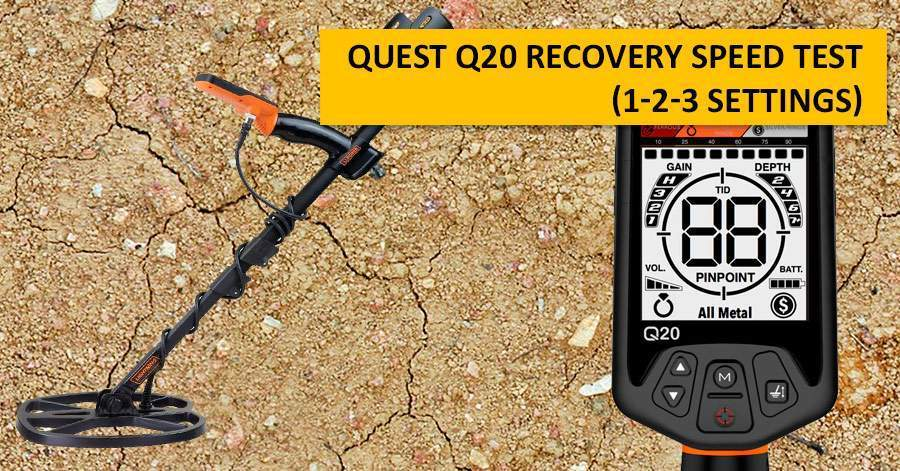 Quest Q20 recovery speed test (1-2-3 settings)