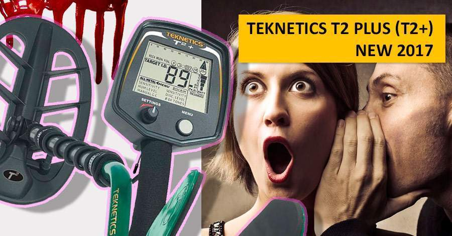 Teknetics T2 Plus (T2+). NEW 2017