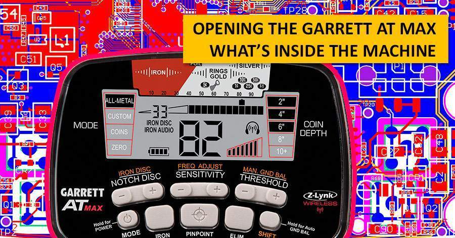 Opening the Garrett AT MAX. What's inside the machine