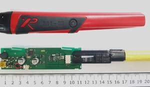 Opening the XP MI-6. What's inside the probe in pictures