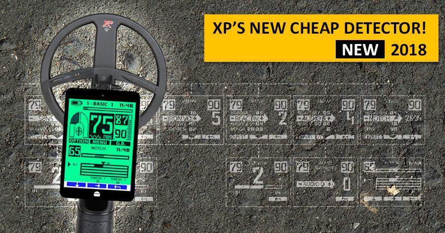XP's new cheap detector! NEW 2018