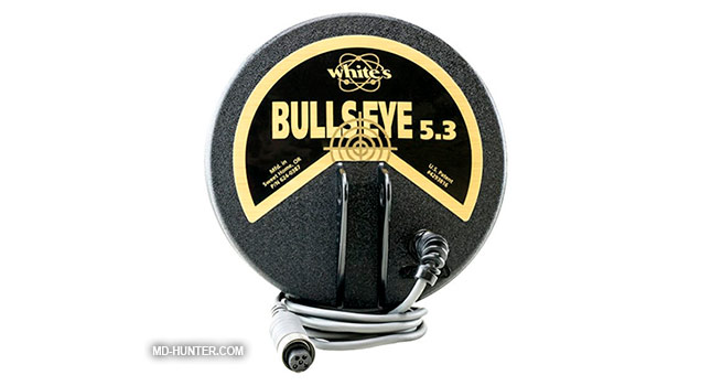 Whites 5.3 Bullseye (6x6) coil for metal detector