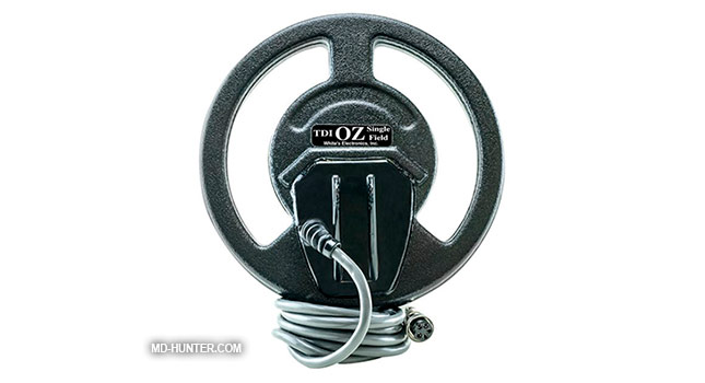 Whites 7.5 Aussie coil for metal detector