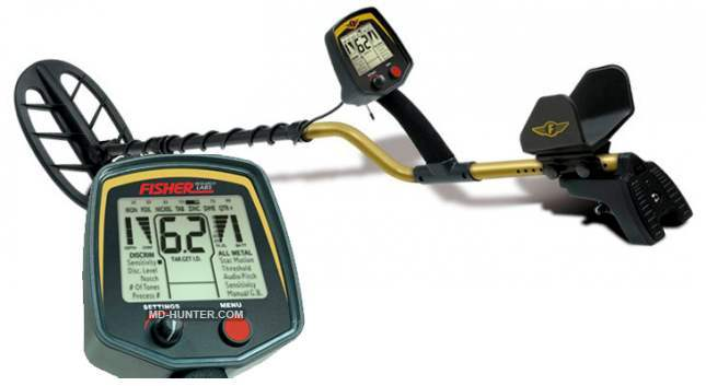 Fisher F75 Plus metal detector
