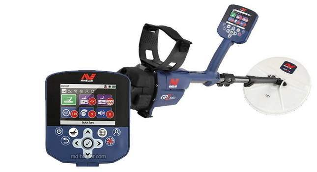Minelab GPZ 7000 Key Features and Description