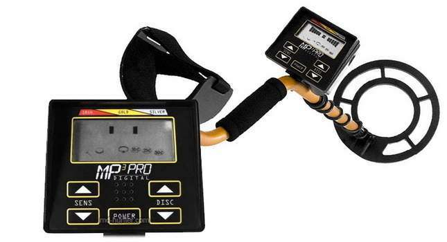 MP Series MP3 Pro metal detector