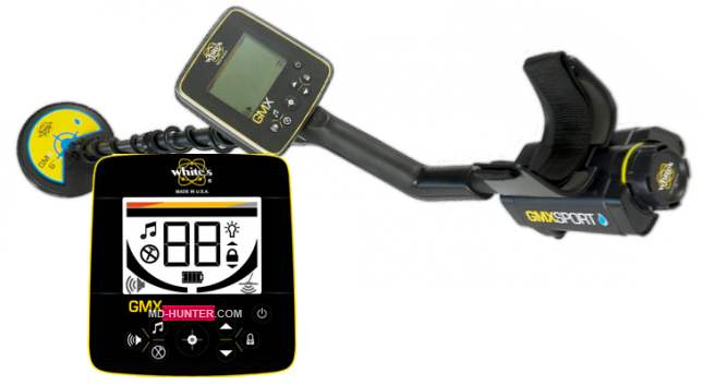 Whites GMX Sport metal detector