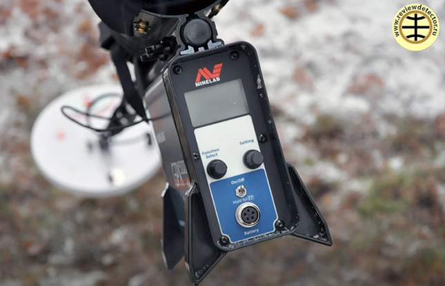 Minelab GPX 5000 and GPX 4500. Photo review Reviewdetector ...