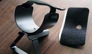 Metal armrest for Minelab