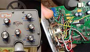 Tesoro Tejon Repair. Teardown (control box)