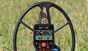 Another coil of Minelab Go-Find 40. Photo & video