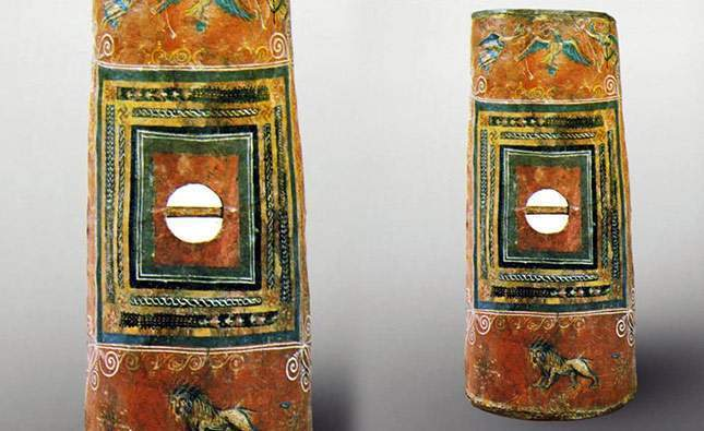 Scutum shield. The one and only find in the world!
