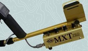 White's gold metal detector (real gold one). Photo