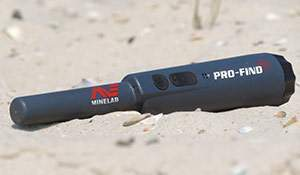 Minelab PRO-Find 25 salt sand test. Video