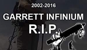 Garrett Infinium 2002-2016. R.I.P.