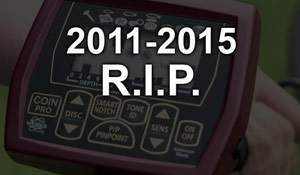 White's Coinmaster PRO - R.I.P. 2011-2015