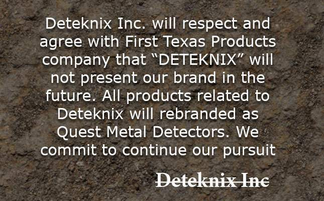 Deteknix is gone! Just got sued by its competitor