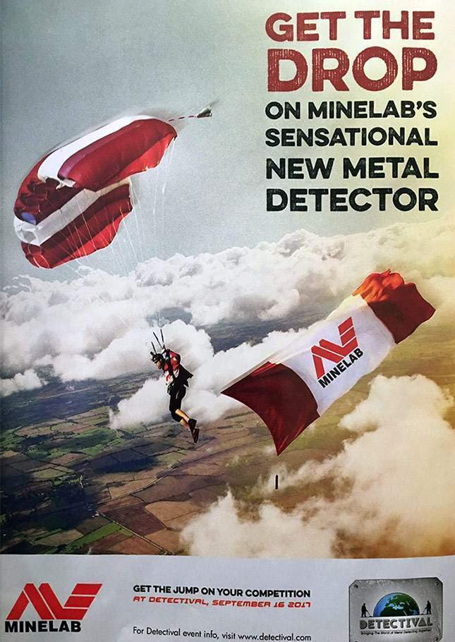 Minelab announces sensation! NEW 2017