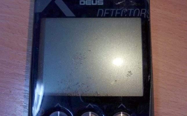 XP Deus problems without a case. Sand inside the remote
