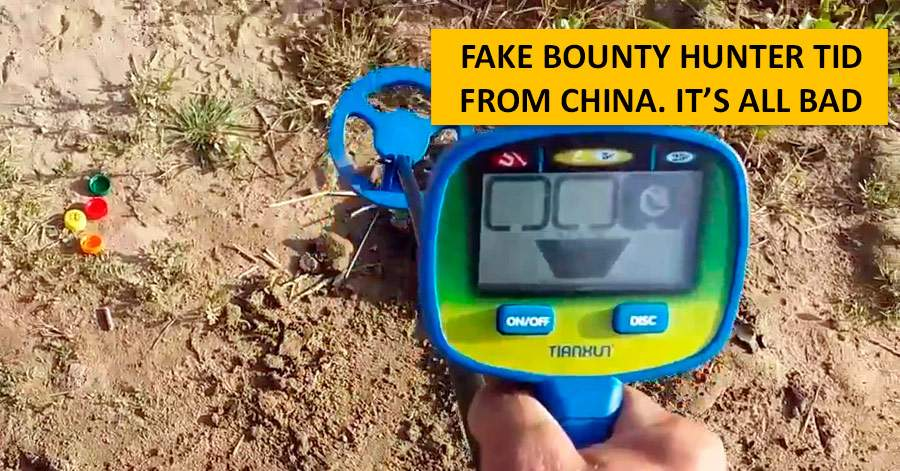 Fake Bounty Hunter TID from China. It's all bad
