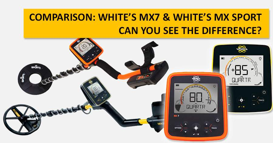 Comparison: White's MX7 & White's MX Sport. Can you see the difference?
