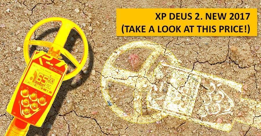 XP Deus 2. NEW 2017 (take a look at this price!)
