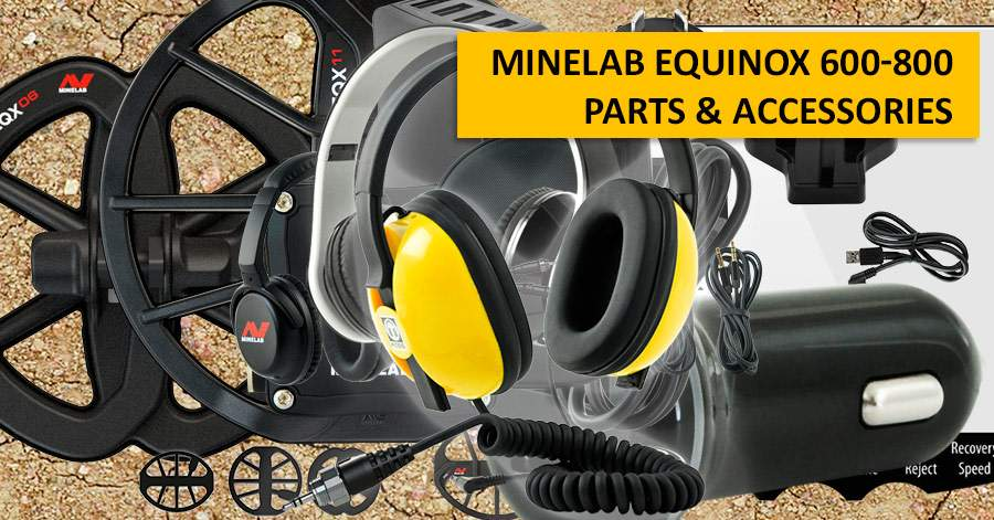 Minelab Equinox 600-800 Parts & Accessories