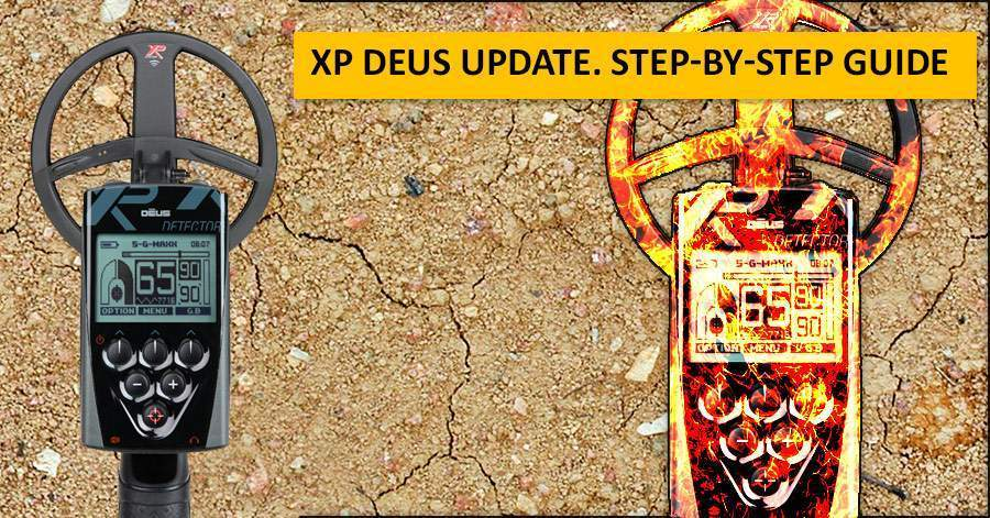 XP Deus update. Step-by-step guide
