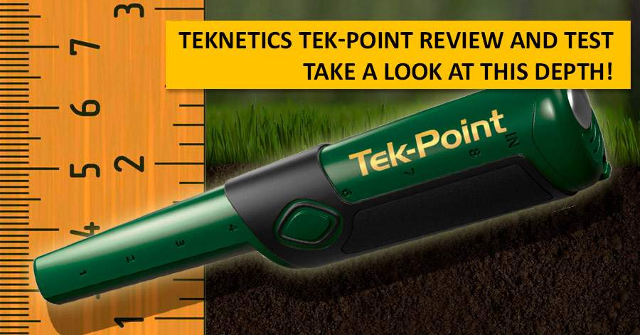 Teknetics Tek-Point Review and Test. Take a look at this depth!