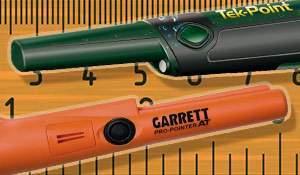 Comparison: Teknetics Tek-Point vs Garrett Pro-Pointer AT