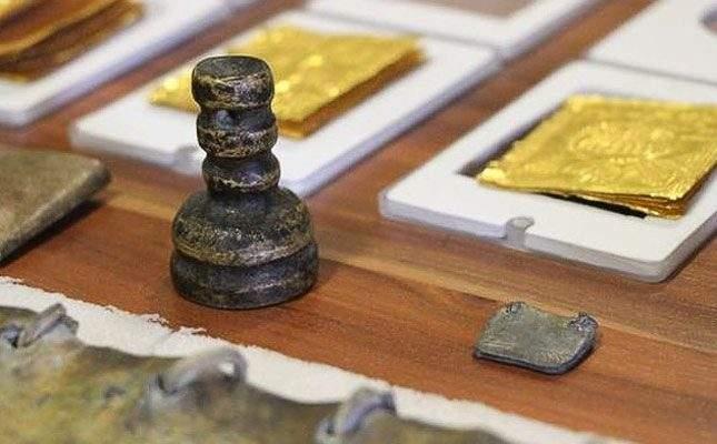 Found: Seal of Solomon. Finder arrested