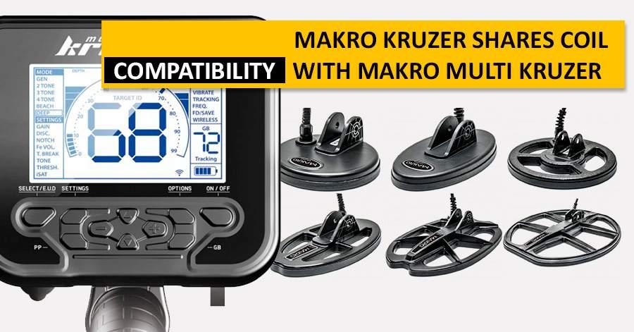 Makro Kruzer shares coil compatibility with Makro Multi Kruzer