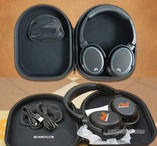 Alternative headphones for Minelab Equinox (wireless)