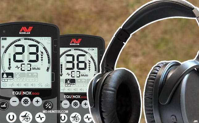 Alternative headphones for Minelab Equinox (wireless) | MD