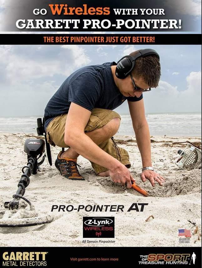 Garrett PRO Pointer AT Z-Lynk: wireless pinpointer. NEW 2018