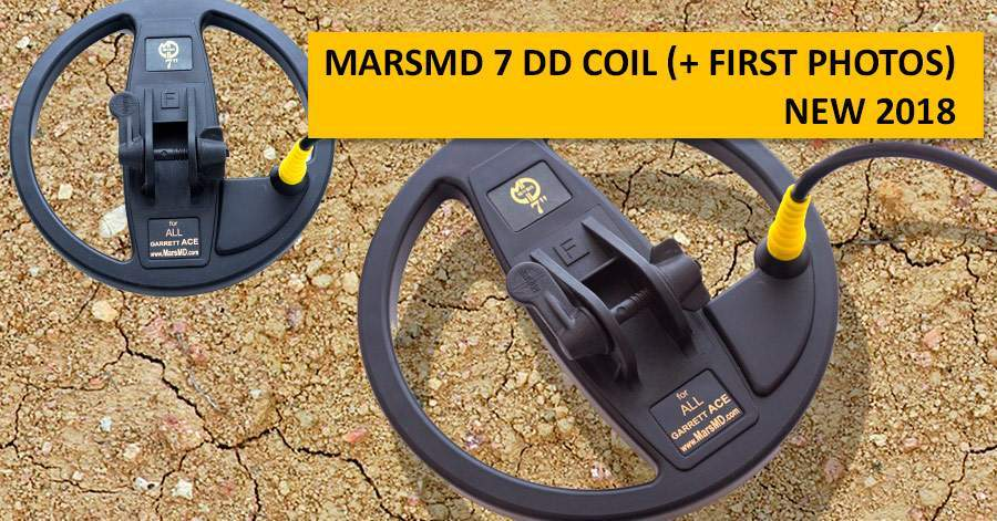 MarsMD 7 DD coil (+ first photos). NEW 2018